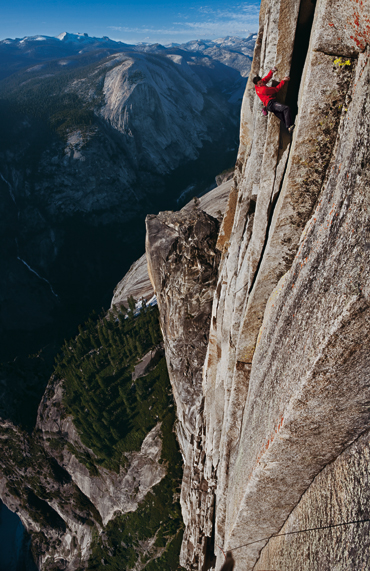 Alex Honnod dans la Regular de Half Dome title=