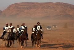 Al-Hussein international endurance race